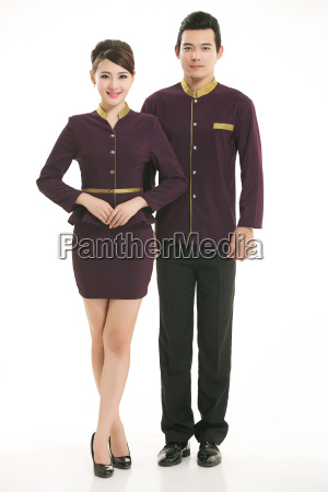 wear, clothing, occupation, chinese, waiters, in - 14061337