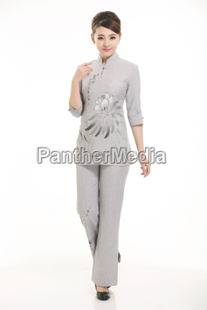 wear, clothing, occupation, chinese, waiters, in - 14061349