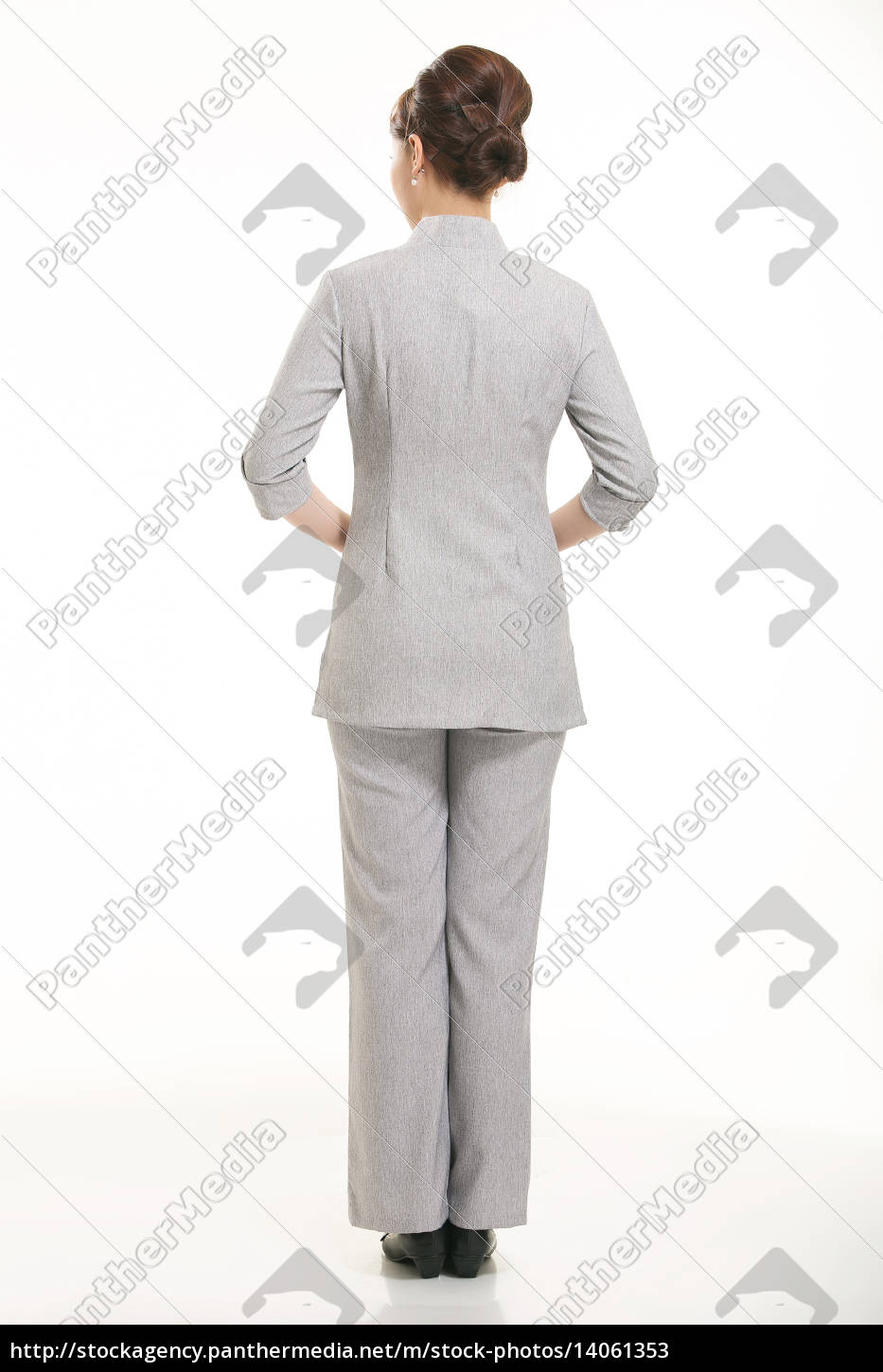 wear, clothing, occupation, chinese, waiters, in - 14061353