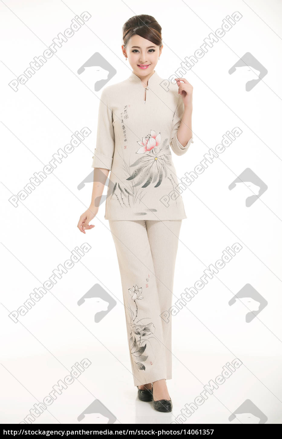 wear, clothing, occupation, chinese, waiters, in - 14061357