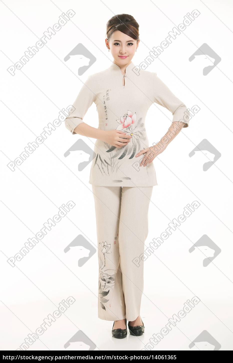 wear, clothing, occupation, chinese, waiters, in - 14061365