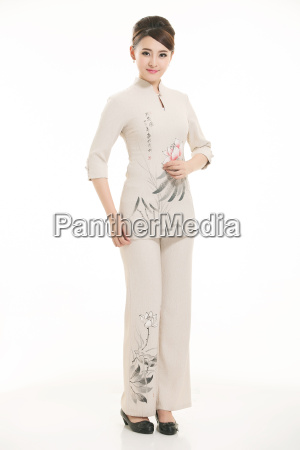 wear, clothing, occupation, chinese, waiters, in - 14061369