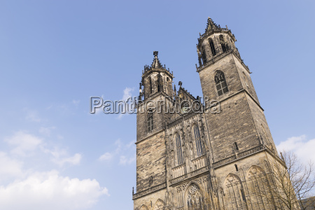 cathedral, in, magdeburg, , germany - 14062263