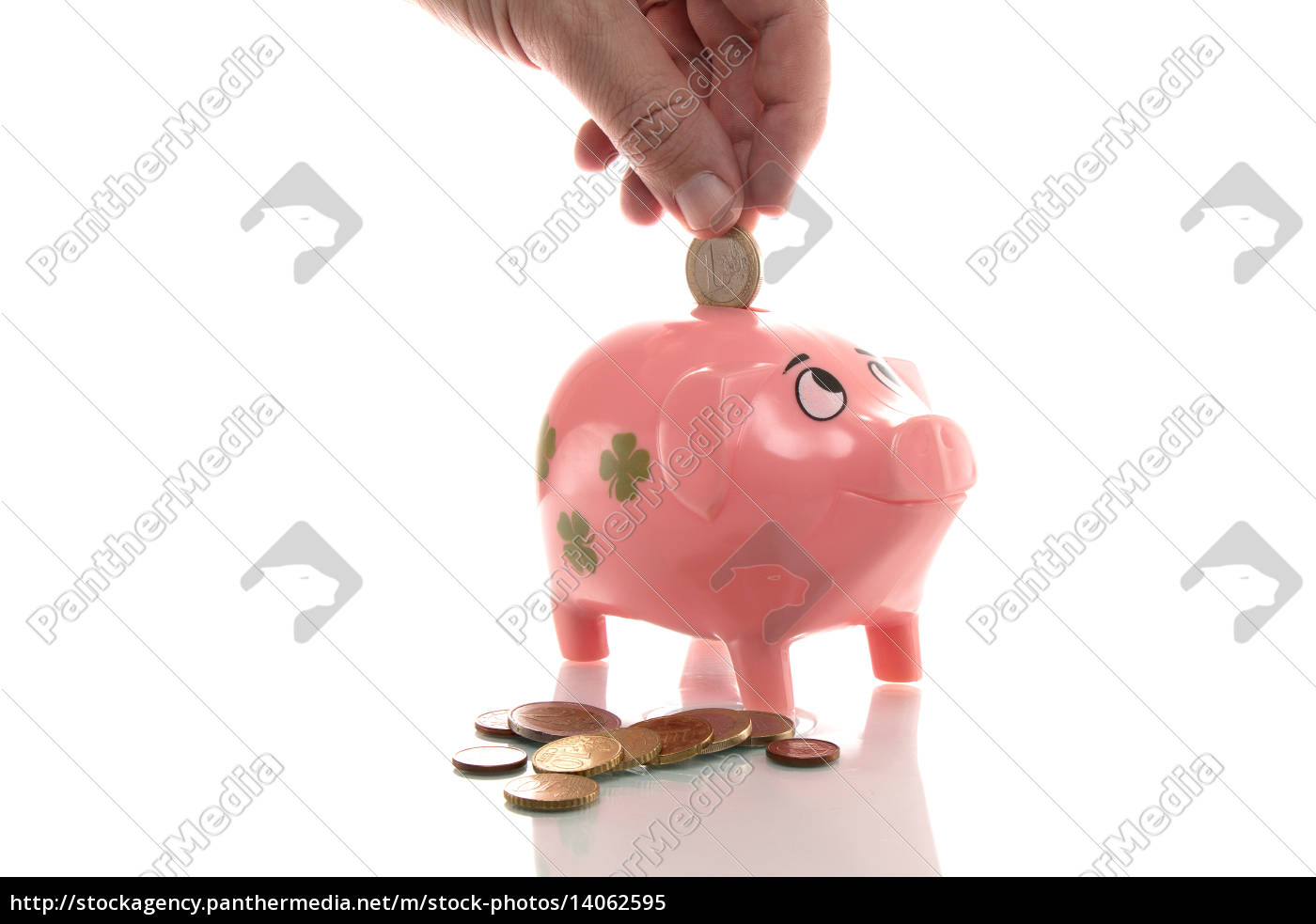 pink, piggy, bank, euros - 14062595