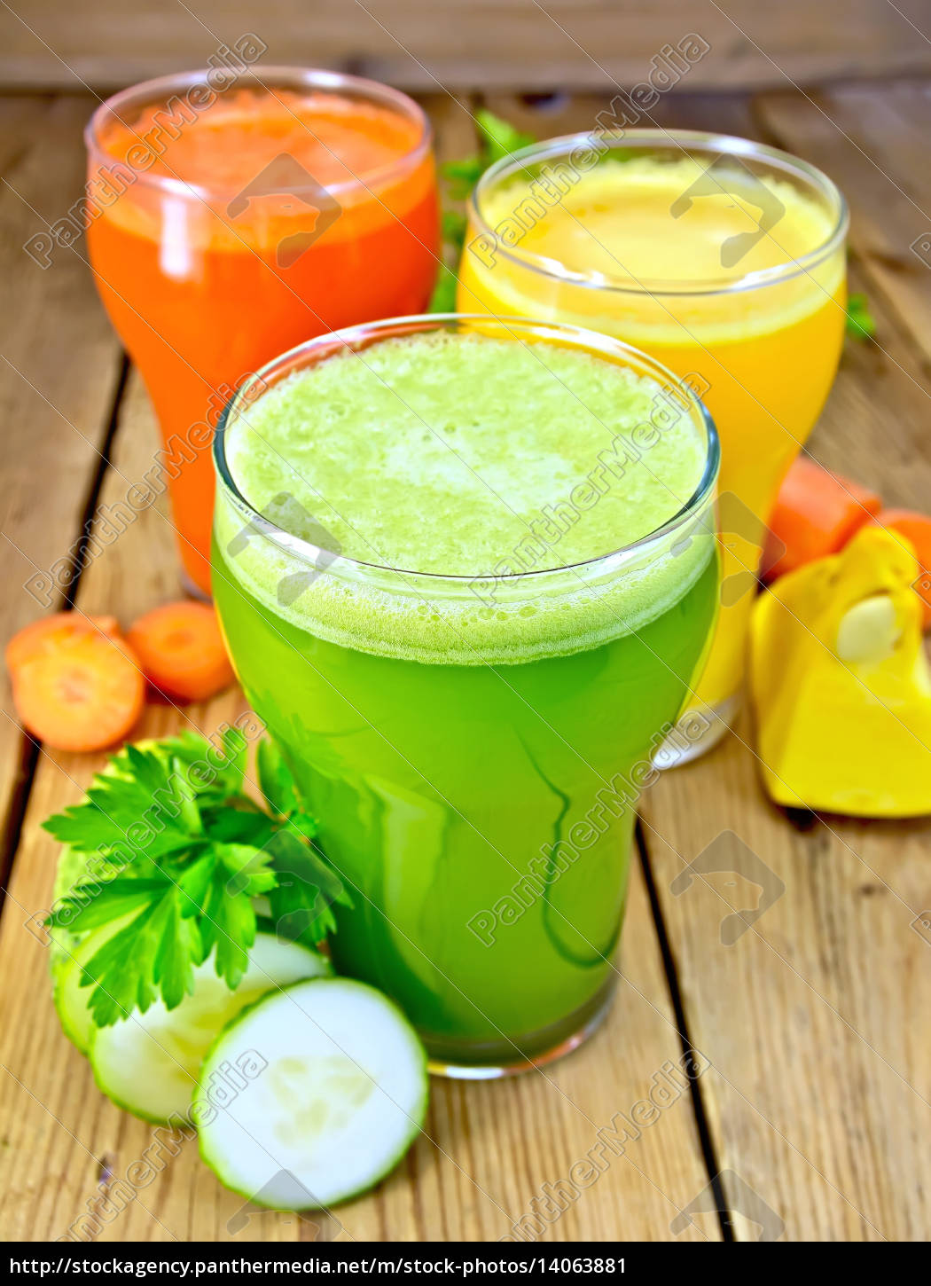 juice, cucumber, and, vegetable, in, three - 14063881