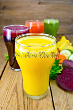 juice, pumpkin, and, vegetable, in, glassful - 14063905
