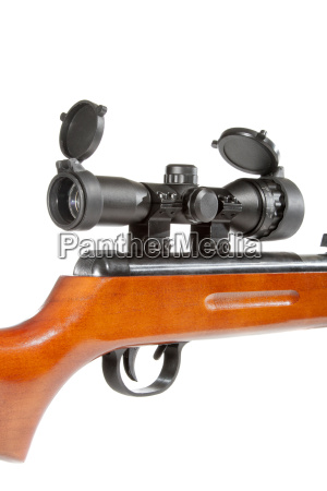 air, rifle, with, a, telescopic, sight - 14064349