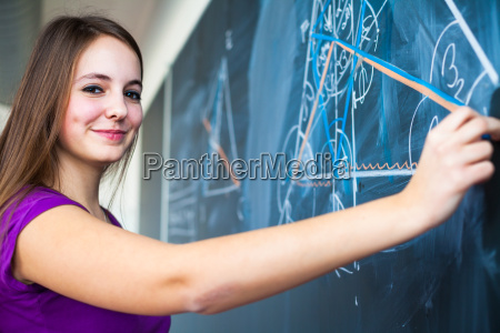 portrait, of, a, pretty, young, college - 14064727