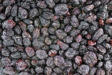 raisins, black, texture - 14064119