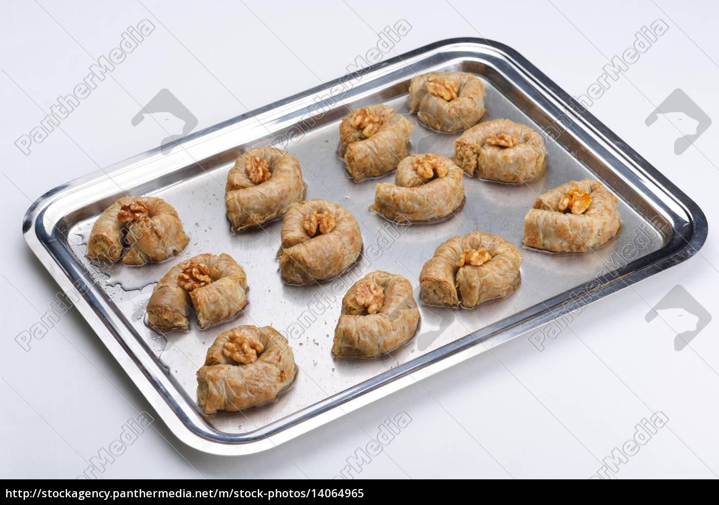 turkish, pastry, kadaif - 14064965