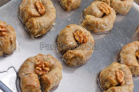 turkish, pastry, kadaif - 14064977