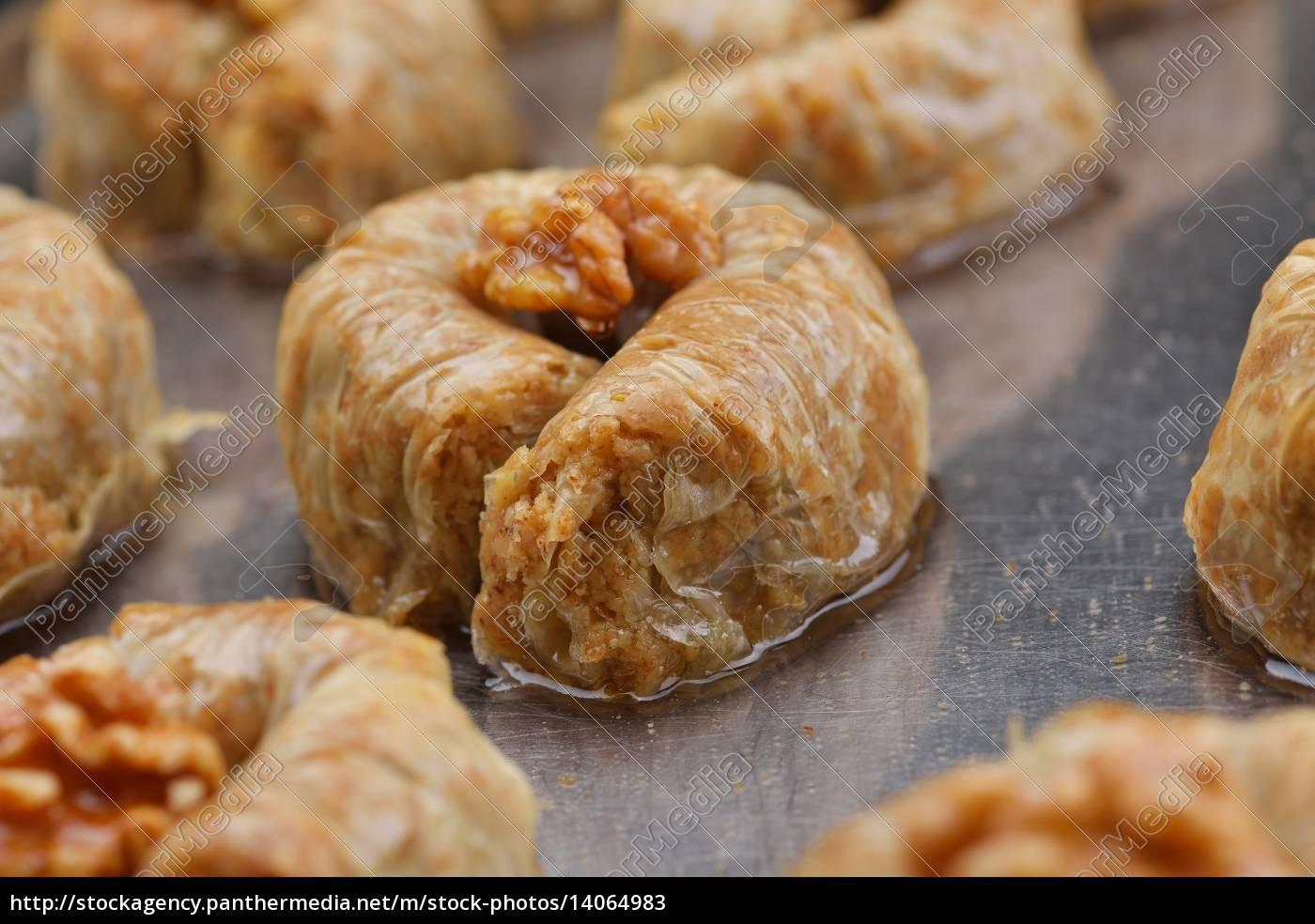 turkish, pastry, kadaif - 14064983