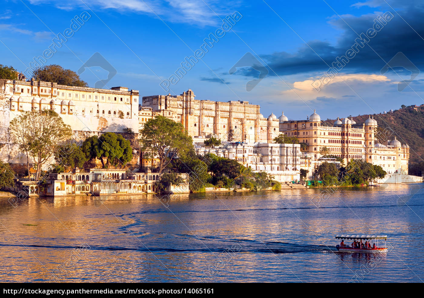 city, palace, , pichola, lake, , udaipur, , rajasthan, - 14065161