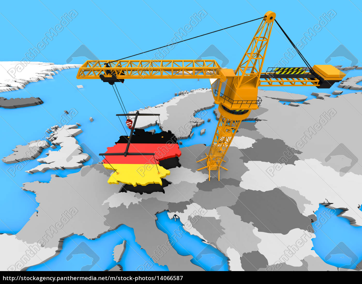 germany, on, a, crane - 14066587