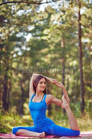 yoga exercise