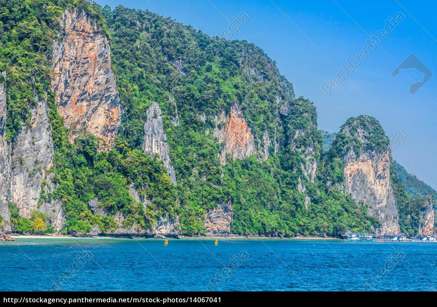 beautiful, tropical, islands, in, exotic, paradise - 14067041