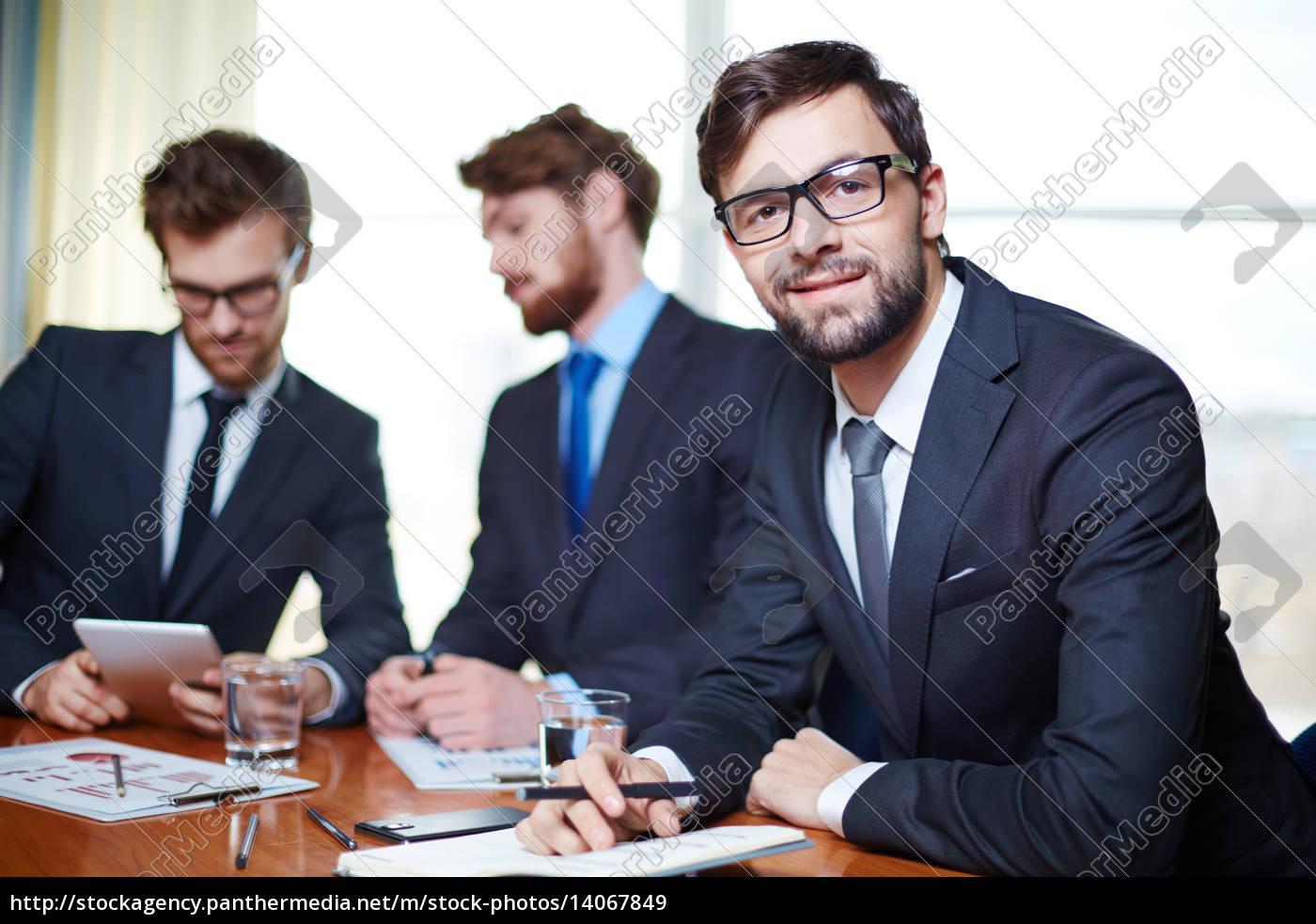 businessman, working - 14067849
