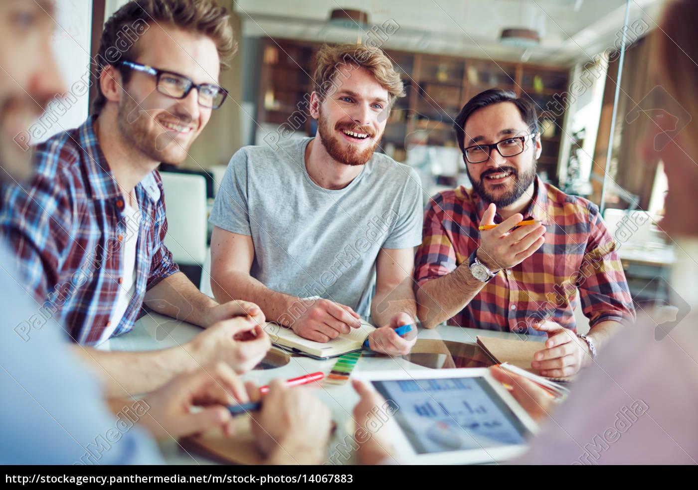 businessmen, at, meeting - 14067883