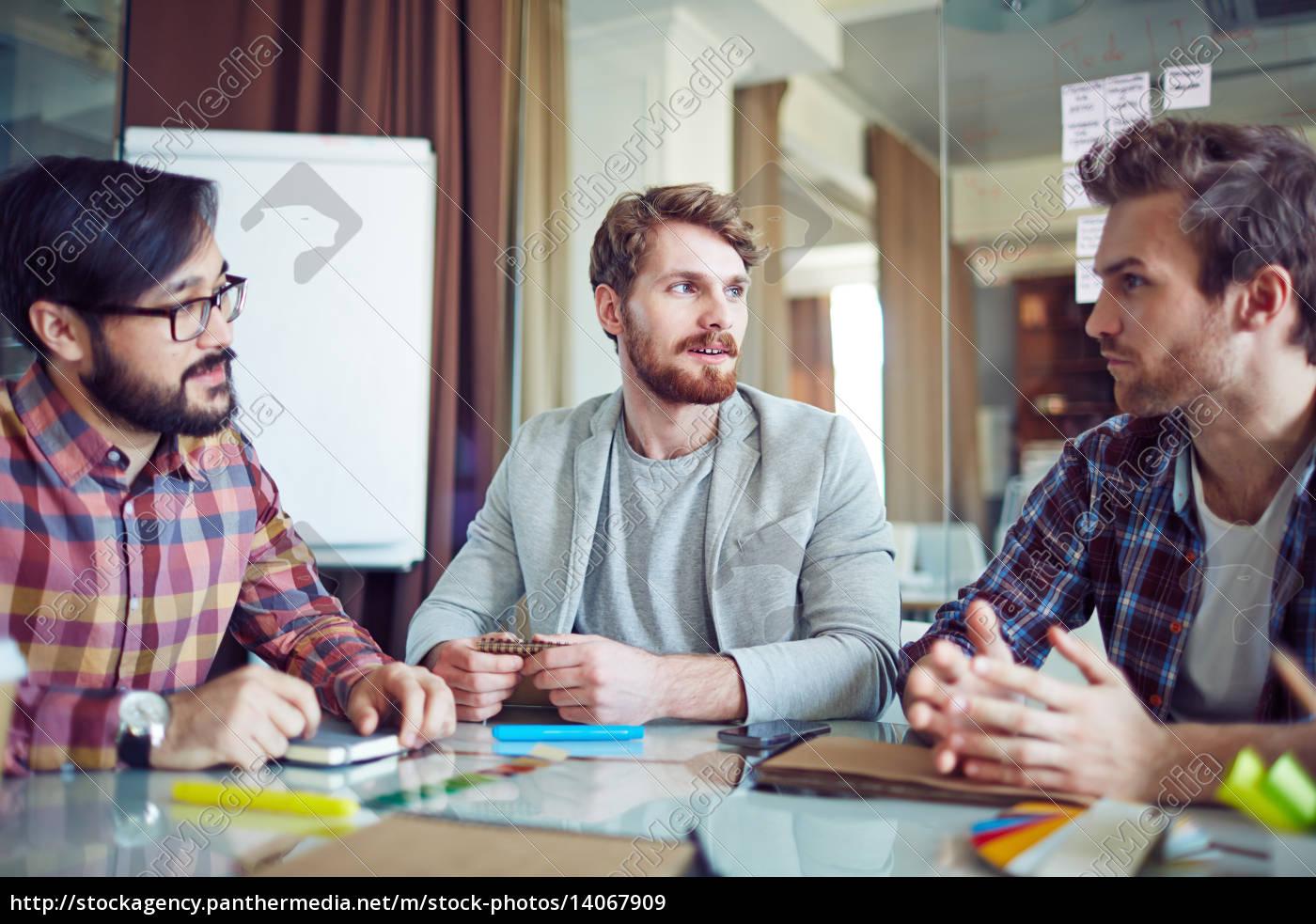 businessmen, at, work - 14067909