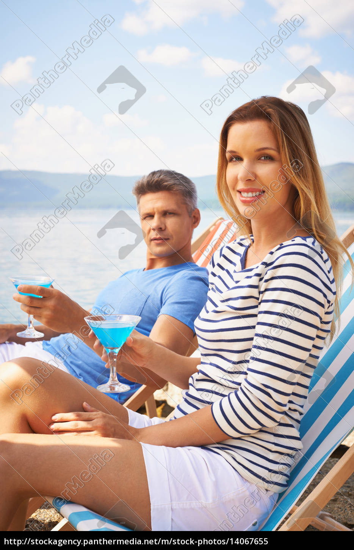 couple, at, summer, resort - 14067655