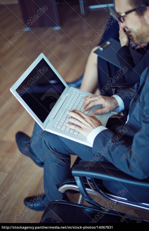 typing, at, seminar - 14067831