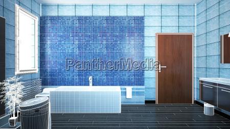 3d, interior, rendering, of, a, bathroom - 14068489