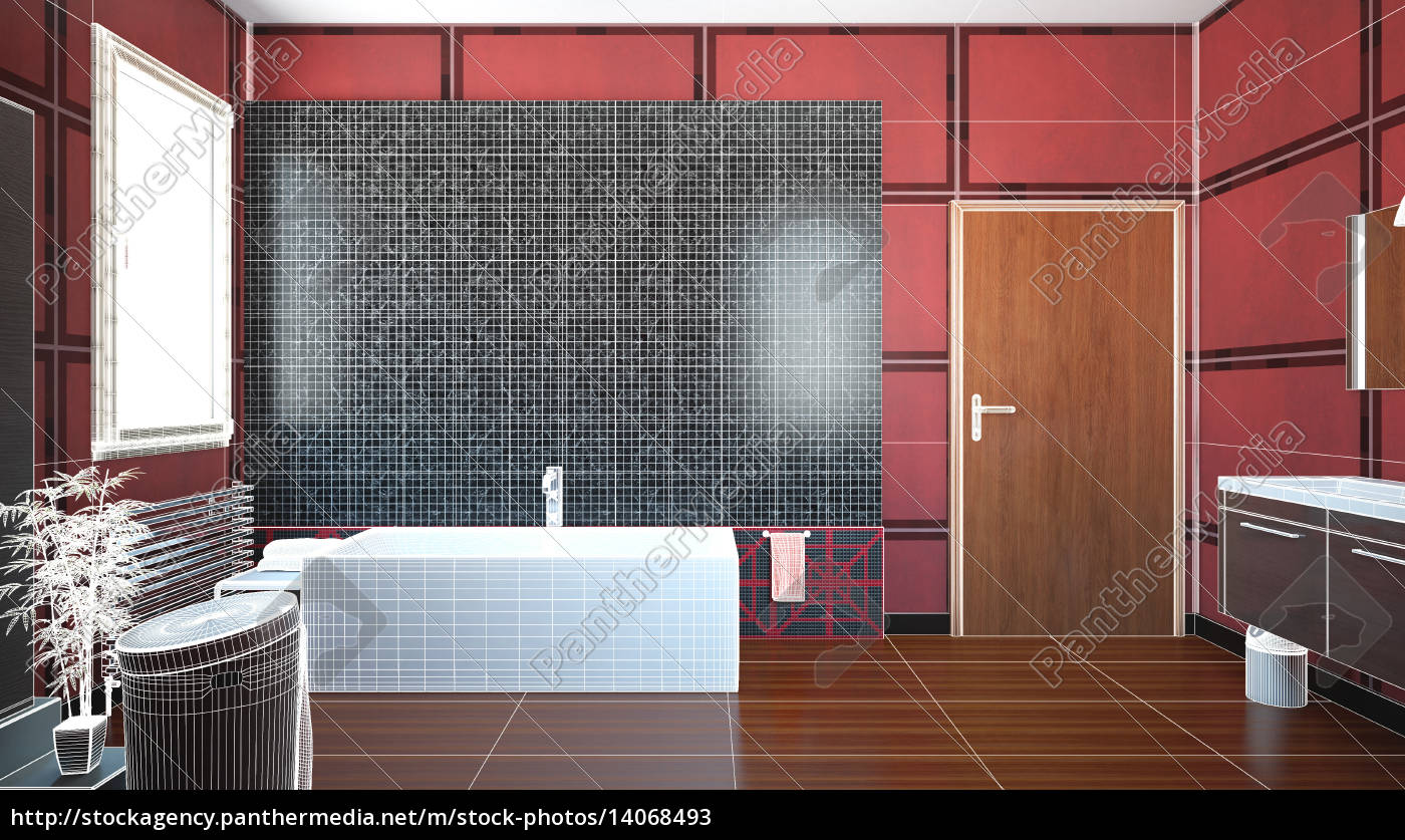 3d, interior, rendering, of, a, bathroom - 14068493