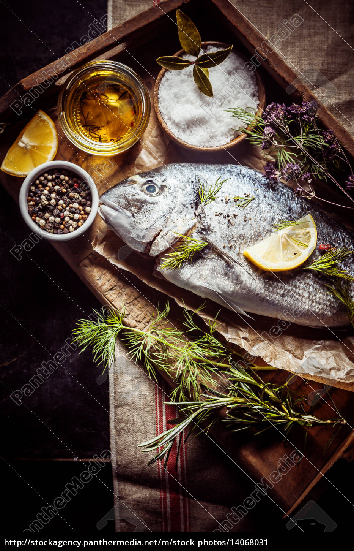 angle, fish, kitchen, cuisine, boil, cooks - 14068031