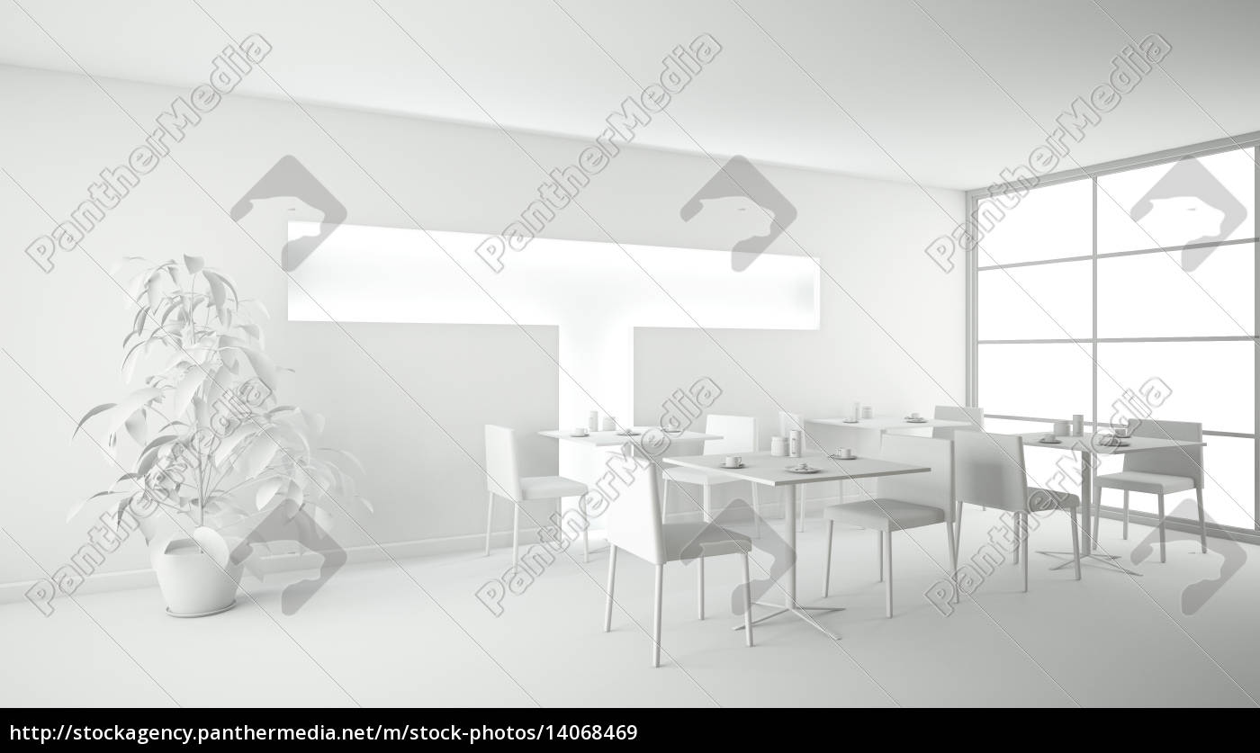 interior, rendering, of, a, bar, without - 14068469