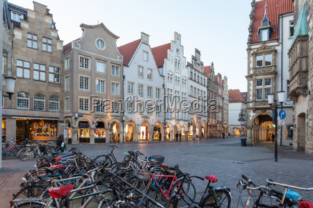 old town of muenster germany