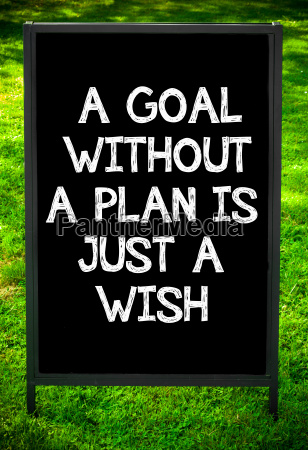 a, goal, without, a, plan, is - 14069487