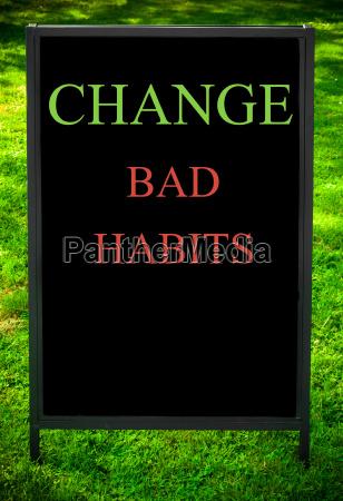 change, bad, habits - 14069523