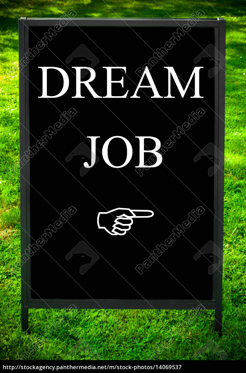dream, job, message, and, hand, pointing - 14069537