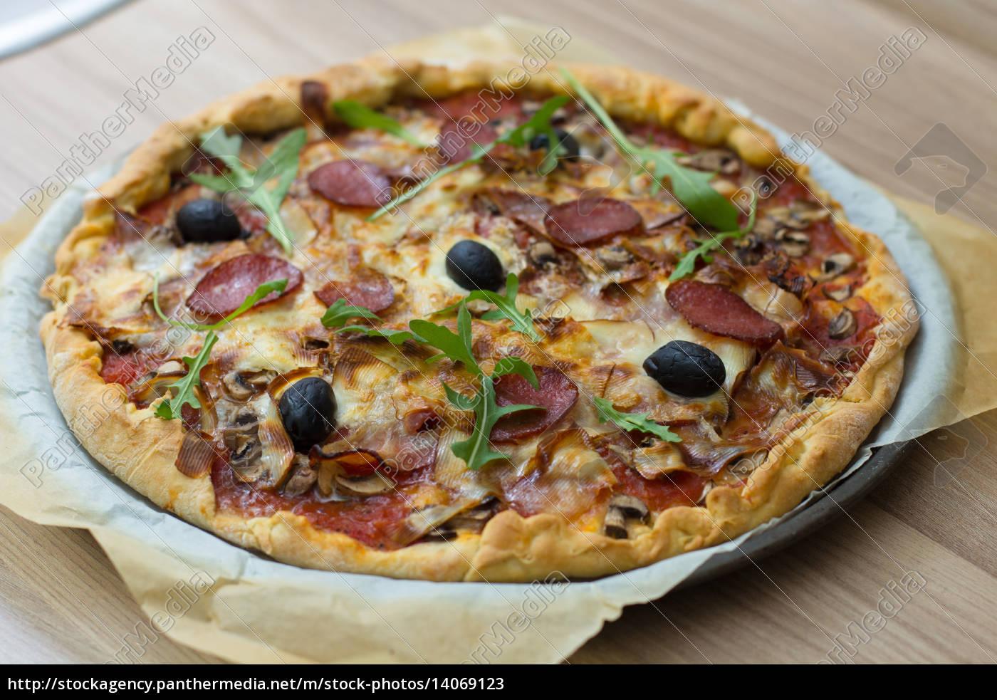 fresh, delicious, pepperoni, pizza - 14069123