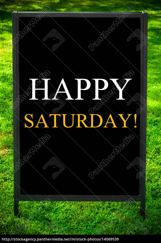 happy, saturday - 14069539