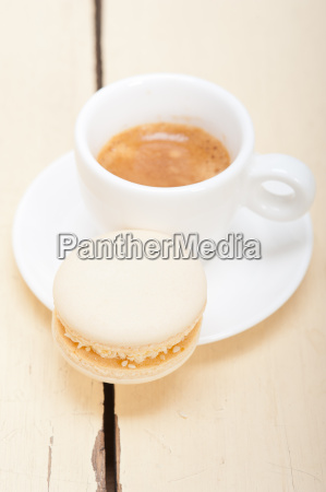 colorful, macaroons, with, espresso, coffee - 14070351