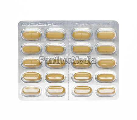 brown, pills, blister, pack - 14071501