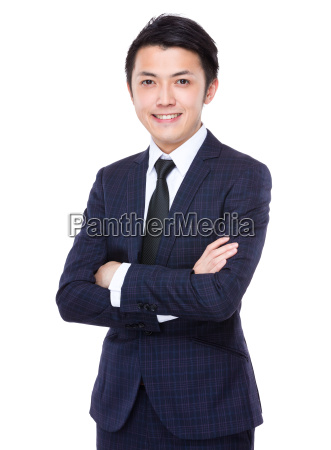 confident, businessman - 14071365