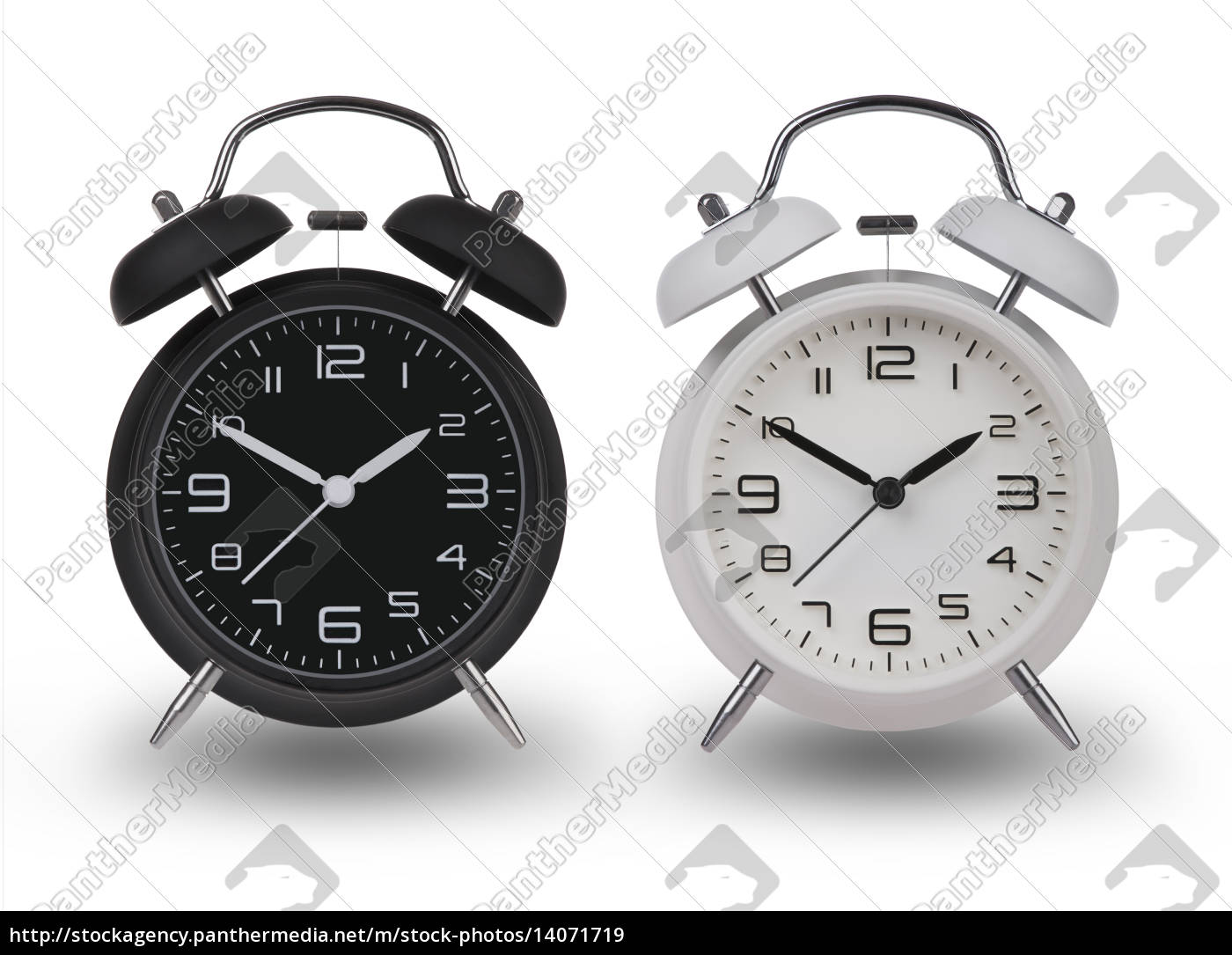 two, alarm, clocks, with, the, hands - 14071719