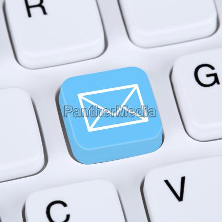 internet concept e mail or send