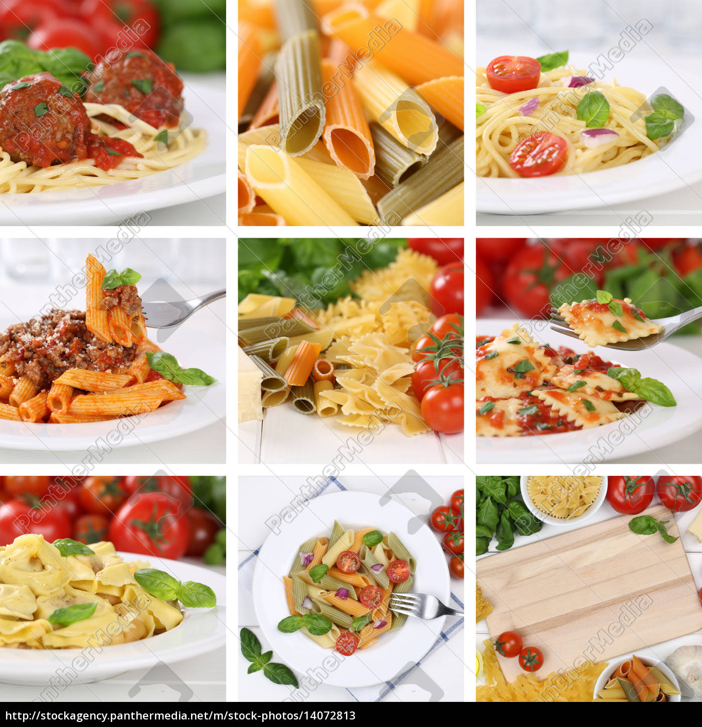 collage, of, ingredients, for, a, spaghetti - 14072813