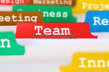 team, or, teamwork, text, in, office - 14072745