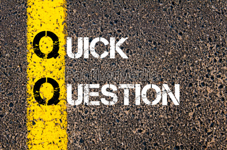 business, acronym, qq, as, quick, question - 14073319