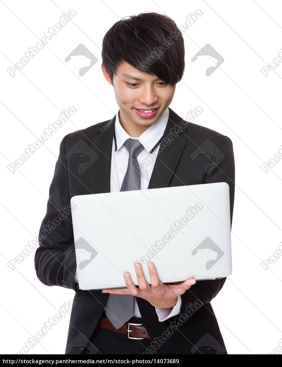 businessman, use, of, portable, computer - 14073689