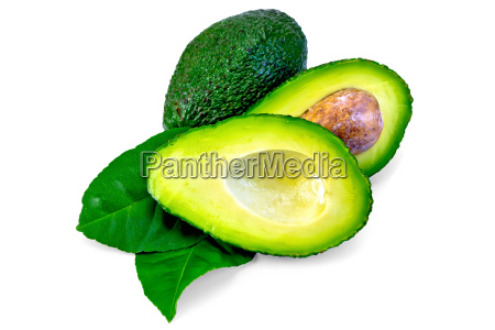 avocado, green, sheet, is, cut - 14074891