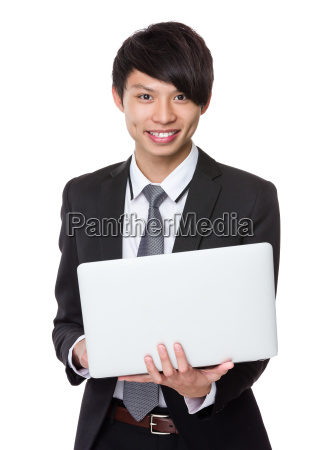 businessman, use, of, laptop - 14074027