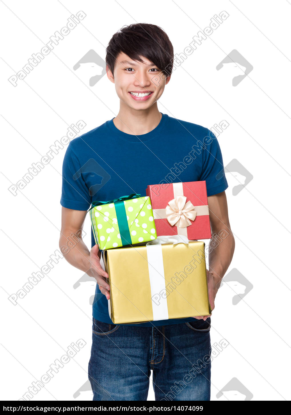 man, hold, with, present, box - 14074099