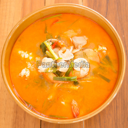 tom, yum, kung, thai, spicy, seafood - 14075669