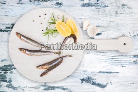 delicious fresh sardines