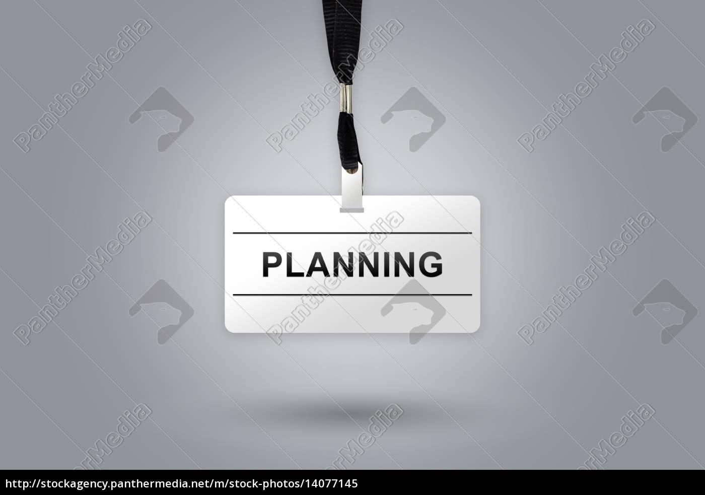 planning, on, badge - 14077145